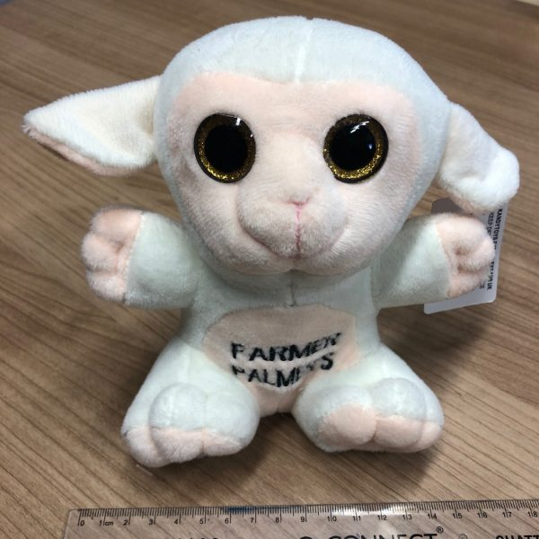 Cute soft toy baby sheep